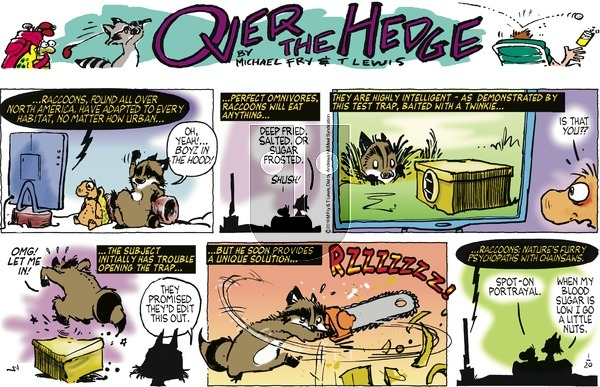 Over the Hedge on Sunday January 20, 2019 Comic Strip