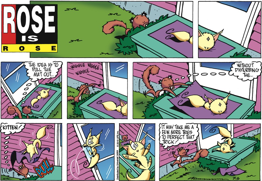 Rose is Rose Comic Strip for July 05, 2015