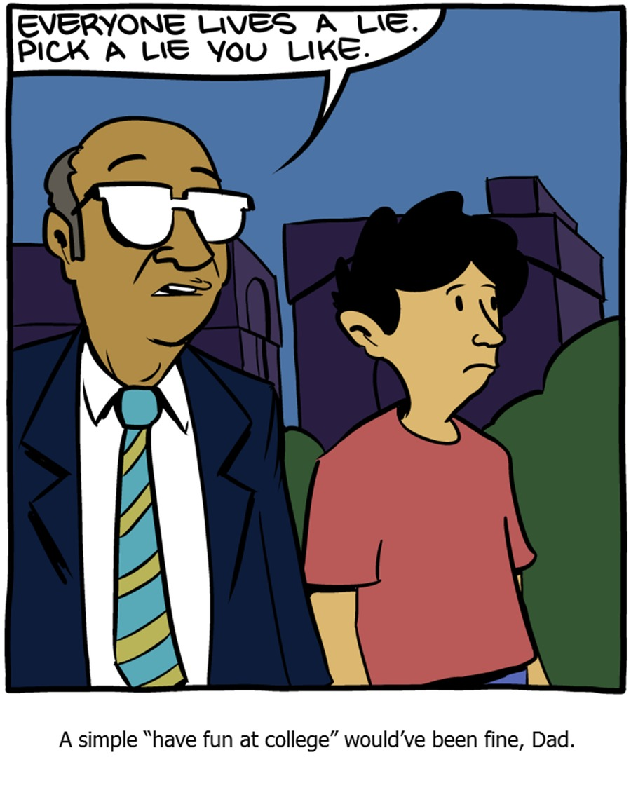 Saturday Morning Breakfast Cereal Comic Strip for October 26, 2014