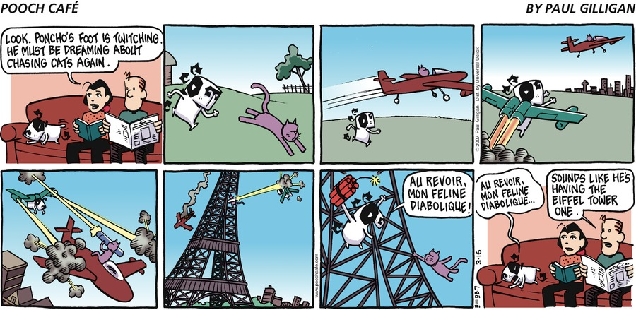 Pooch Cafe Comic Strip for March 16, 2014