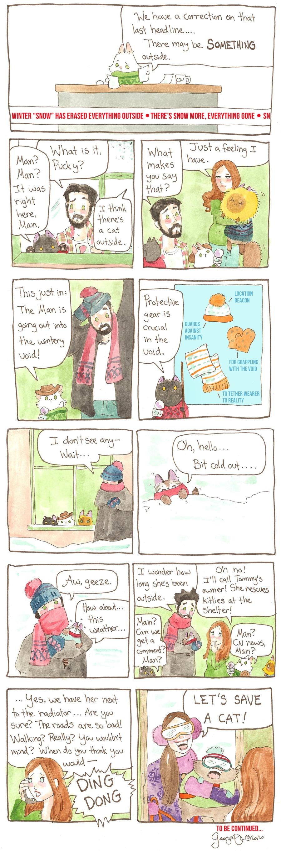 Breaking Cat News for Feb 19, 2017 Comic Strip