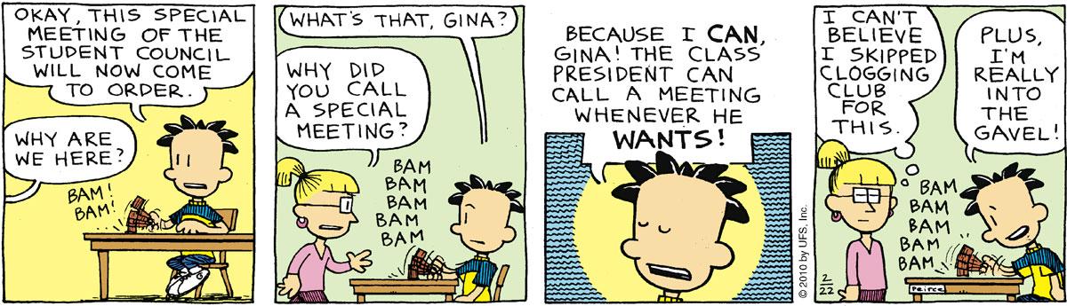 Big Nate Comic Strip for February 22, 2010