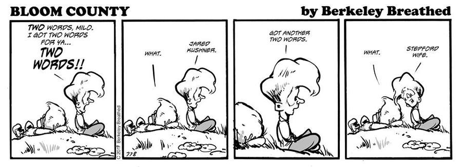 Bloom County 2019 Comic Strip for June 10, 2019
