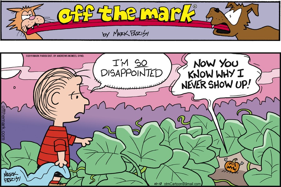 Off the Mark Comic Strip for October 13, 2019