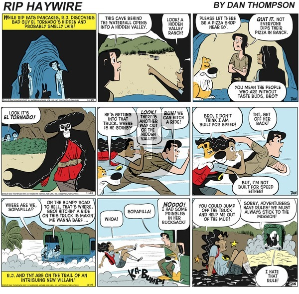Rip Haywire on Sunday May 2, 2021 Comic Strip