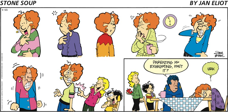 Stone Soup Comic Strip for March 22, 2009
