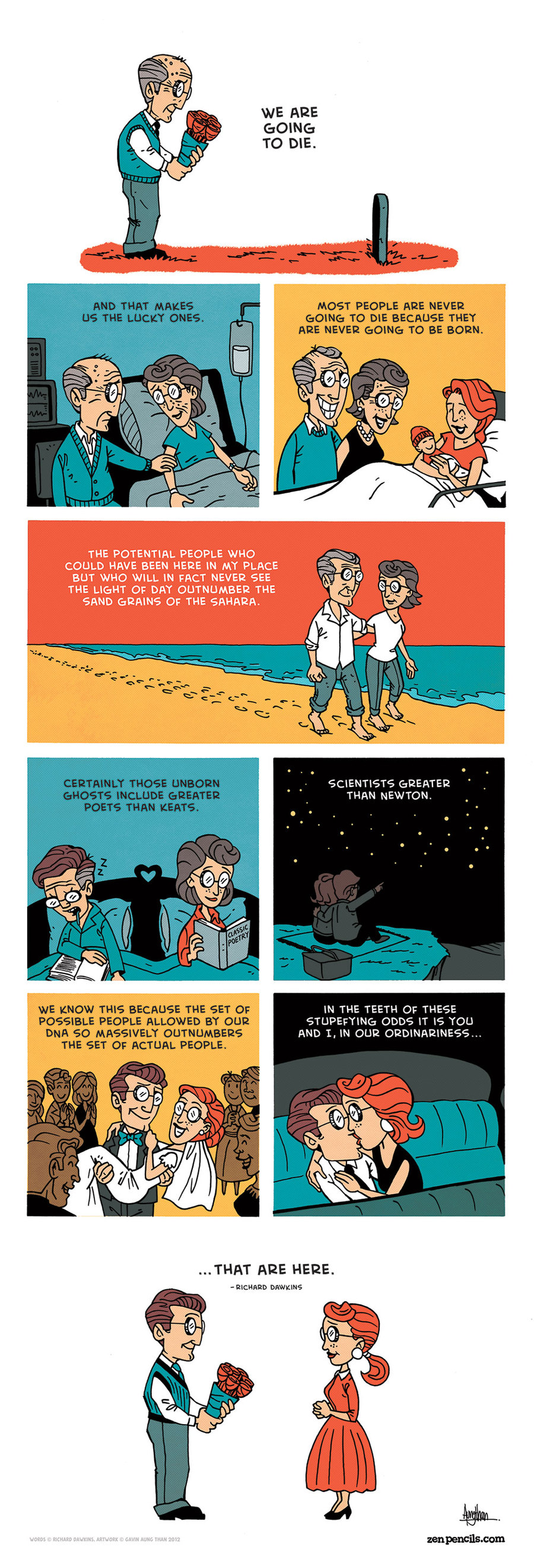 Zen Pencils for Dec 27, 2013 Comic Strip