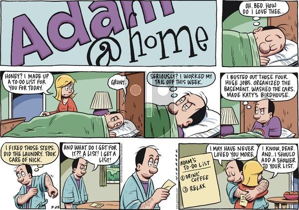 Adam@Home on Sunday September 23, 2018 Comic Strip
