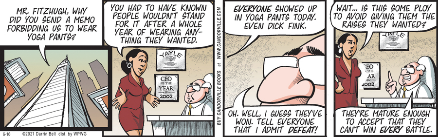 Candorville Comic Strip for June 16, 2021