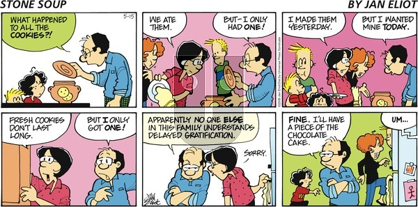 Stone Soup on Sunday May 15, 2005 Comic Strip