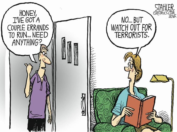 Jeff Stahler Comic Strip for July 17, 2016