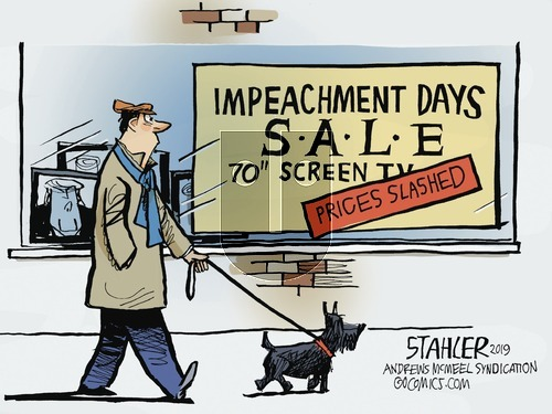 Jeff Stahler on Sunday November 10, 2019 Comic Strip