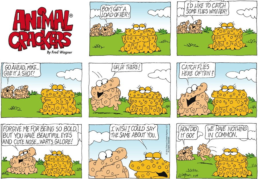 Animal Crackers for Jan 19, 2014 Comic Strip