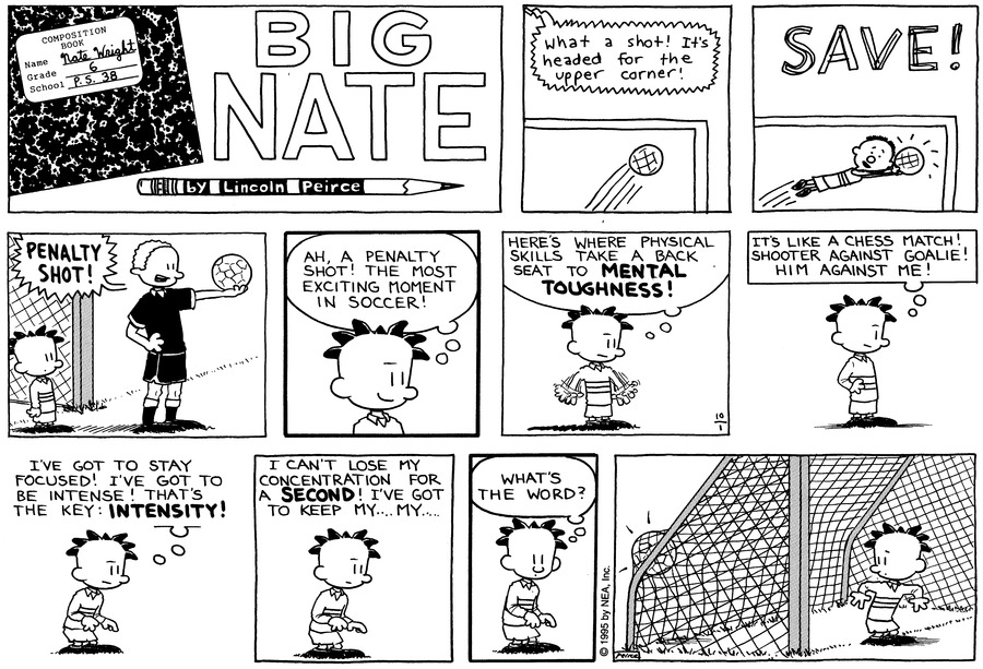 Big Nate: First Class Comic Strip for October 11, 2020