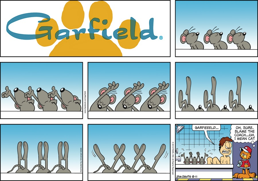 Jon:  Garfieeeld...
