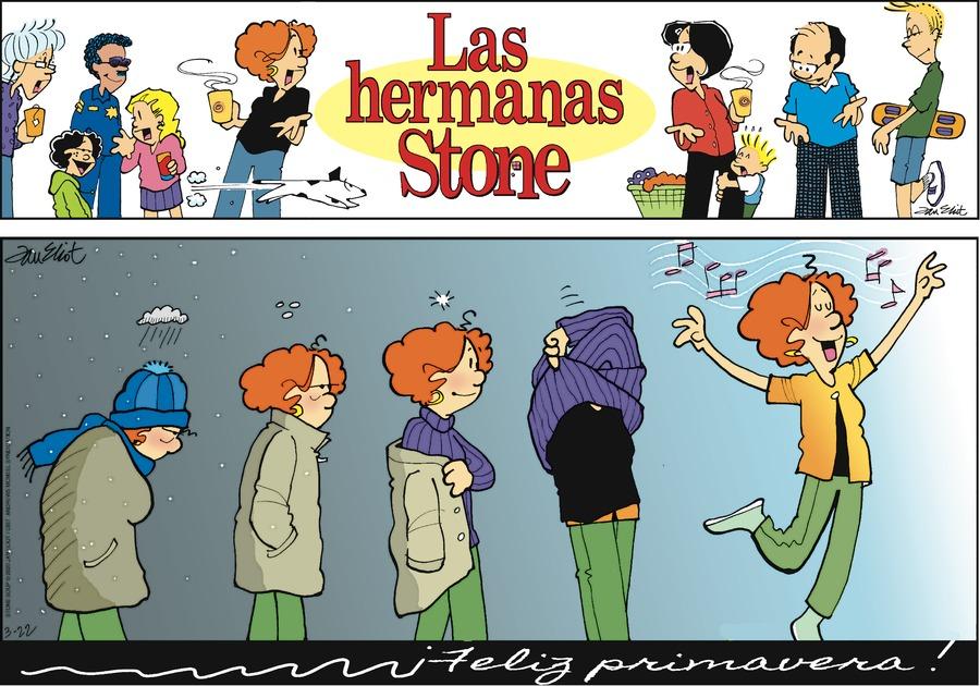 Las Hermanas Stone Comic Strip for March 22, 2020