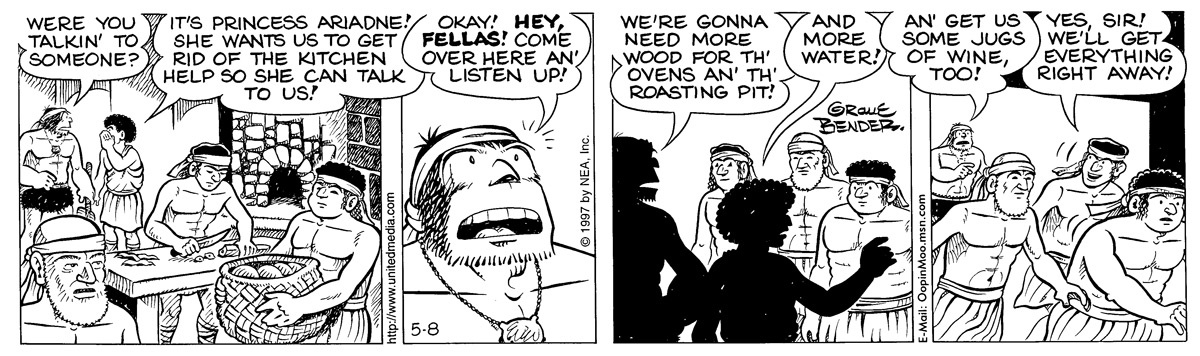 Alley Oop for May 08, 1997 Comic Strip