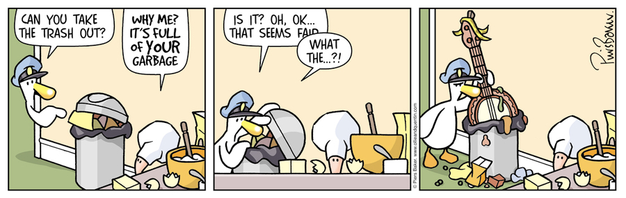 Ollie and Quentin Comic Strip for September 16, 2021