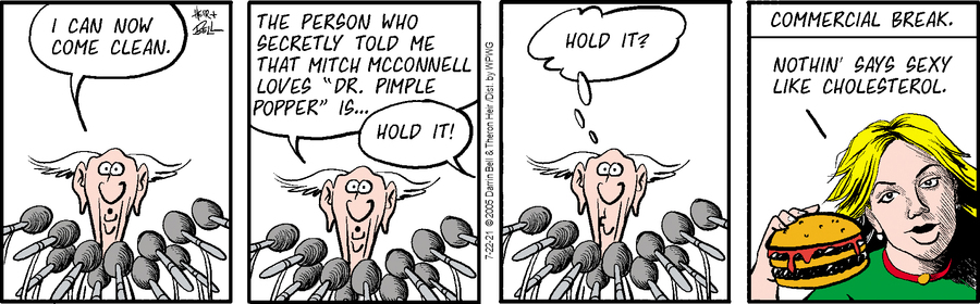 Rudy Park Comic Strip for July 22, 2021