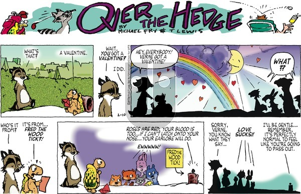 Over the Hedge on Sunday February 10, 2013 Comic Strip