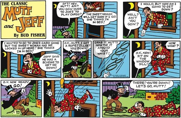 Mutt & Jeff on Sunday April 25, 2021 Comic Strip