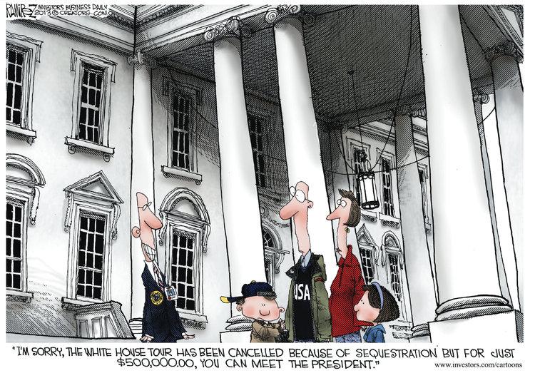 Michael Ramirez Comic Strip for March 08, 2013