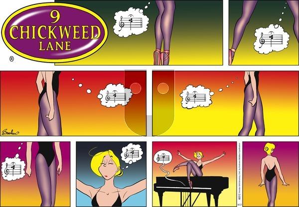 9 Chickweed Lane on Sunday August 27, 2017 Comic Strip