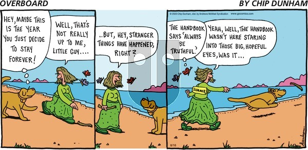 Overboard on Sunday August 16, 2020 Comic Strip