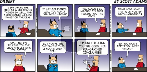 Dilbert on Sunday August 2, 2020 Comic Strip
