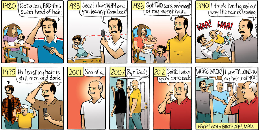Beardo for Nov 11, 2012 Comic Strip