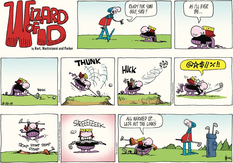 Wizard of Id Comic Strip for August 26, 2018