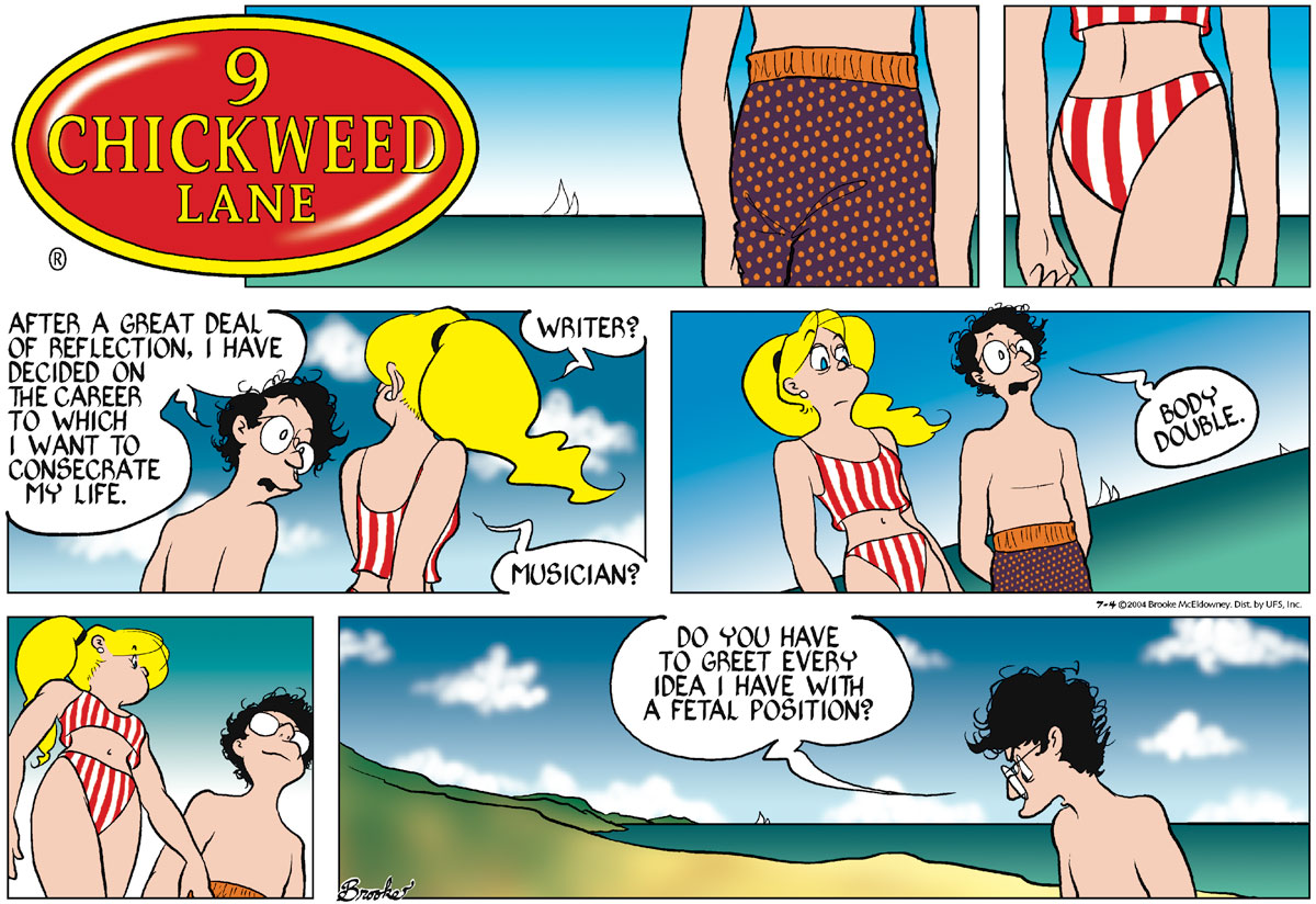 9 Chickweed Lane Comic Strip for July 04, 2004