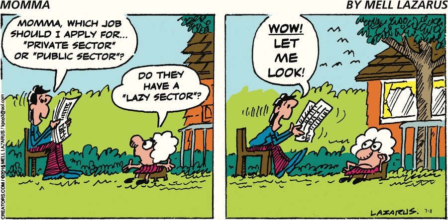 Momma Comic Strip for July 11, 2021