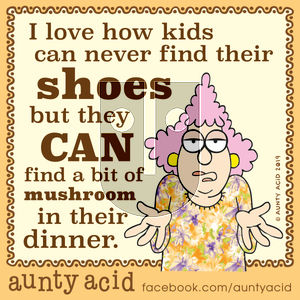 Aunty Acid on Monday December 2, 2019 Comic Strip