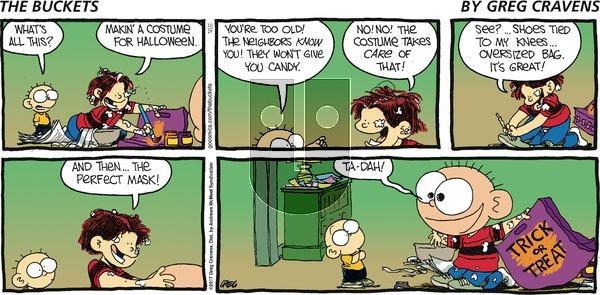 The Buckets on Sunday October 29, 2017 Comic Strip
