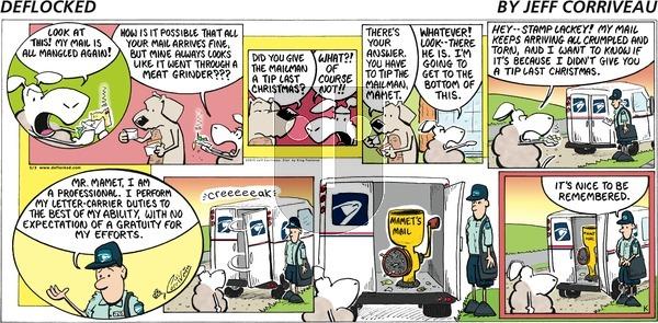 DeFlocked on Sunday May 3, 2015 Comic Strip