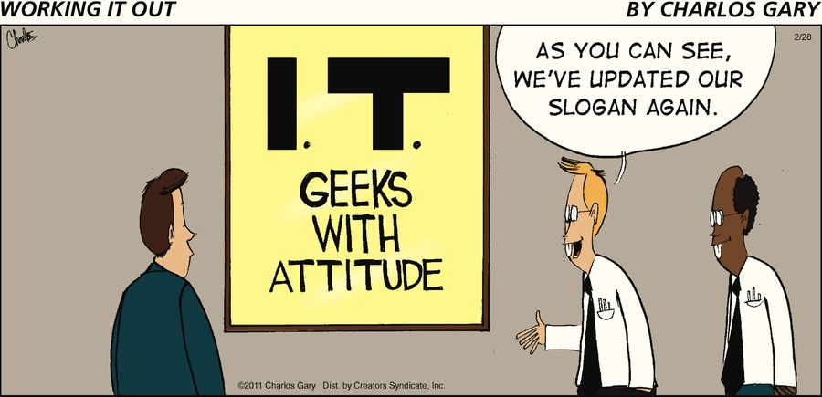 Working It Out Comic Strip for February 28, 2021