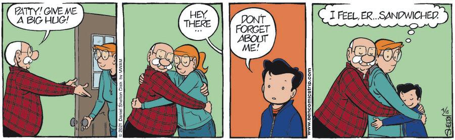 Ben Comic Strip for April 13, 2021