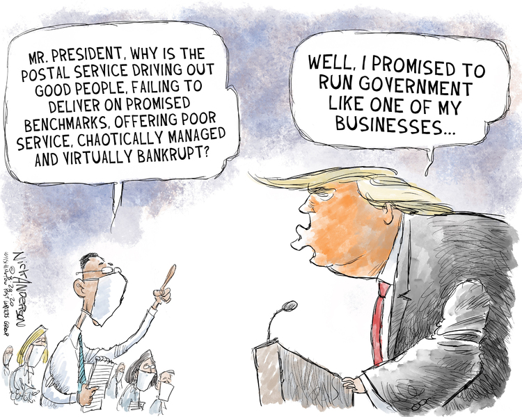 Nick Anderson Comic Strip for August 21, 2020