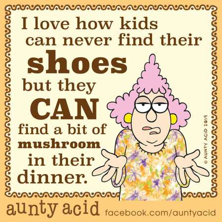 Aunty Acid Comic Strip for December 02, 2019
