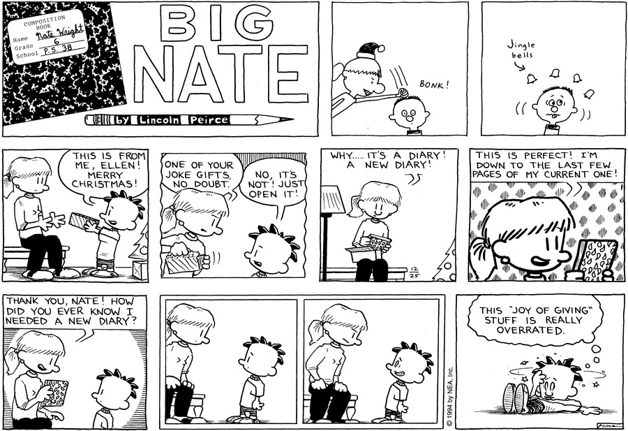 Big Nate: First Class Comic Strip for January 05, 2020
