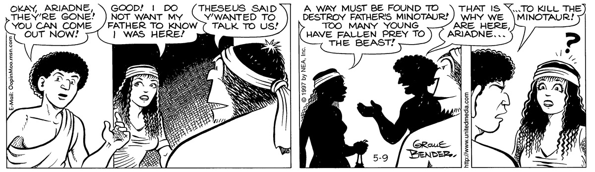 Alley Oop for May 9, 1997 Comic Strip