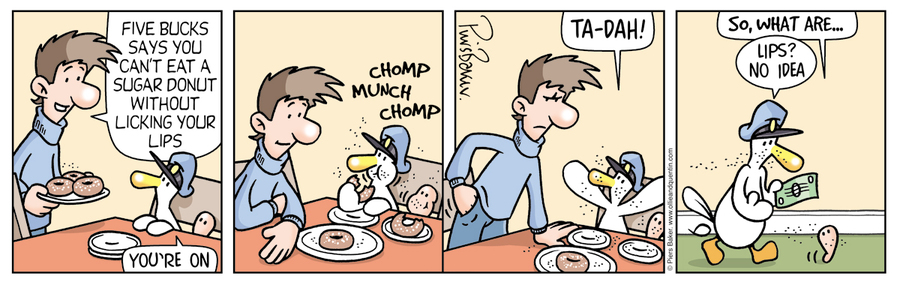 Ollie and Quentin Comic Strip for September 18, 2021