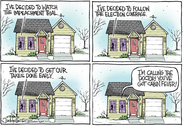 Joe Heller Comic Strip for January 20, 2020