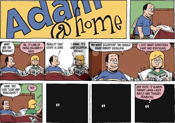 Adam@Home on Sunday June 24, 2012 Comic Strip