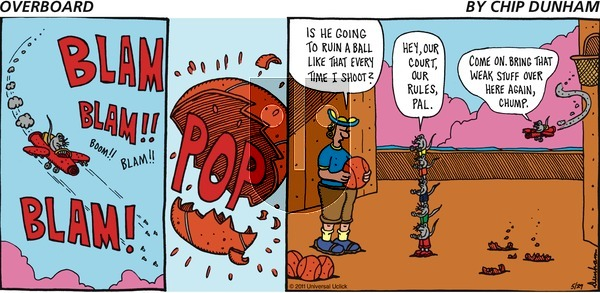 Overboard on Sunday May 29, 2011 Comic Strip