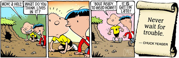 Brain Squirts Comic Strip for October 10, 2019