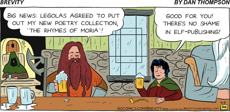 Brevity Comic Strip for April 03, 2016