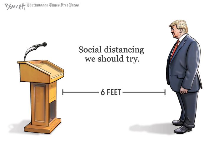 Clay Bennett Comic Strip for March 24, 2020