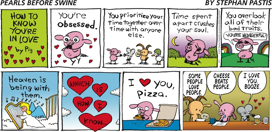 Pearls Before Swine Comic Strip for April 21, 2019